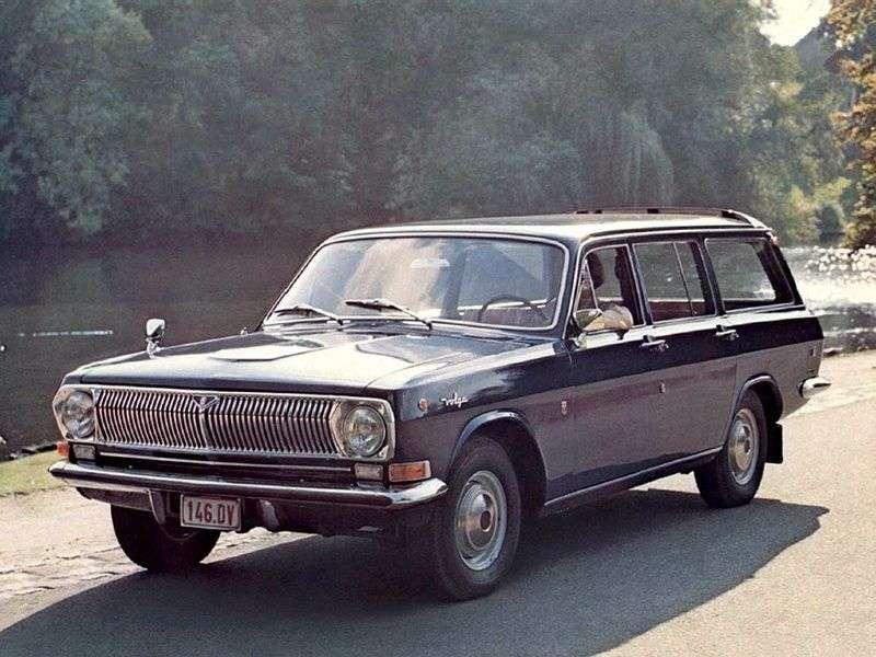 GAZ 24 Volga 2nd generation wagon 2.4 MT (1977–1985)
