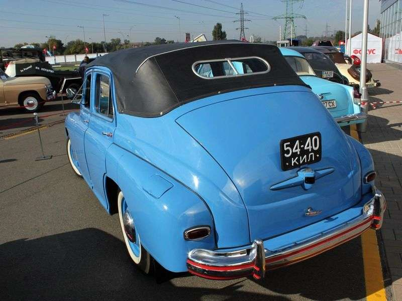 GAZ M 20 Victory 1st generation convertible 2.1 MT (1949–1953)