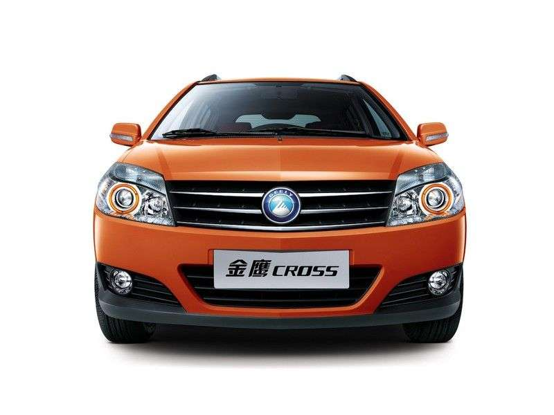Geely MK 1st generation [restyling] Cross hatchback 1.5 MT Luxury (2010 – n.)