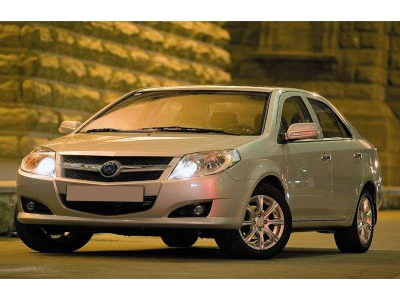 Geely MK 1st generation sedan 1.5 MT Elegance (2008 – n.)