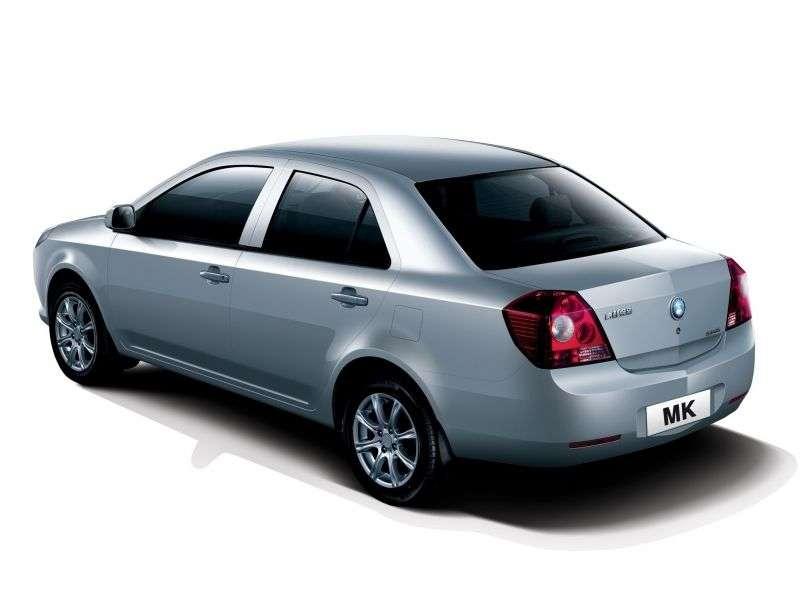Geely MK 1st generation [restyling] MK 08 4 door sedan 1.5 MT Comfort (2009 – n. In.)