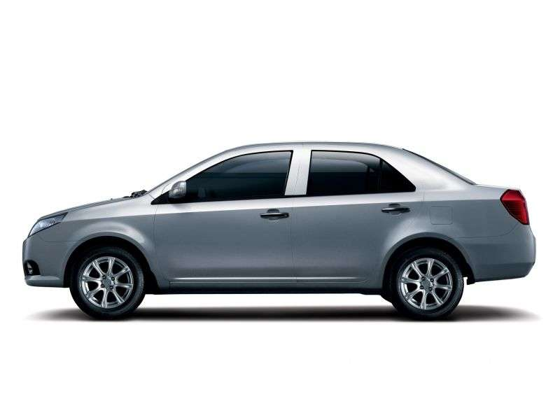 Geely MK 1st generation [restyling] MK 08 4 door sedan 1.5 MT Base (2009 – n. In.)