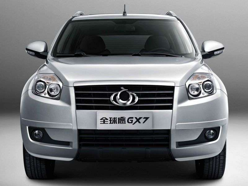 Geely GX7 1st generation 2.4 AT crossover (2011 – current century)