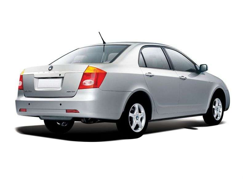 Geely Vision 1 generation sedan 1.8 MT Elegance (2008–2010)