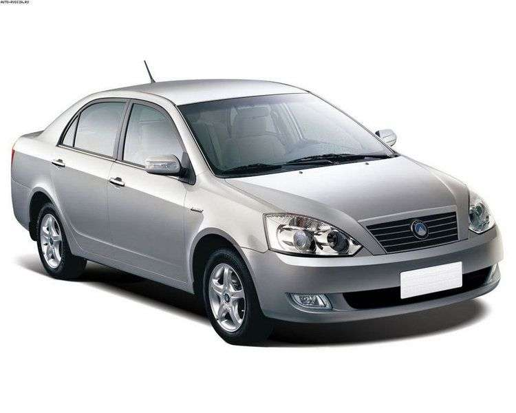 Geely Vision 1 generation sedan 1.8 MT Comfort (2008–2010)