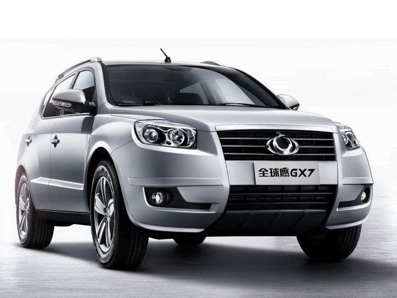 Geely GX7 1st generation 2.0 MT crossover (2011 – n.)