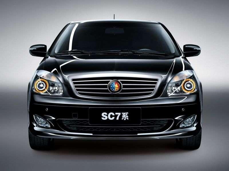 Geely SC7 1st generation sedan 1.8 MT (2013 – n. In.)