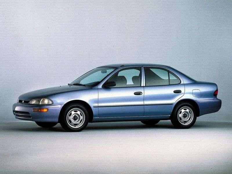 Geo Prizm 1st generation sedan 1.6 MT (1991–1997)