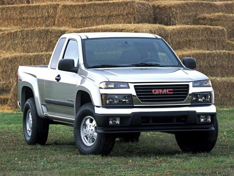 GMC Canyon 1st generation Extended Cab pickup 2 bit. 2.8 MT (2003 – n. In.)