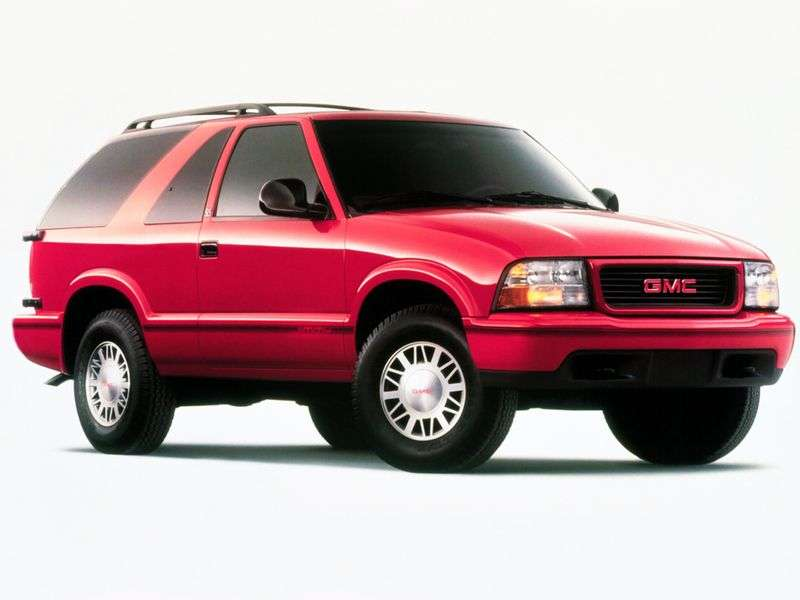 GMC Jimmy 2nd generation SUV 3 dv. 4.3 MT 4WD (1994–2001)