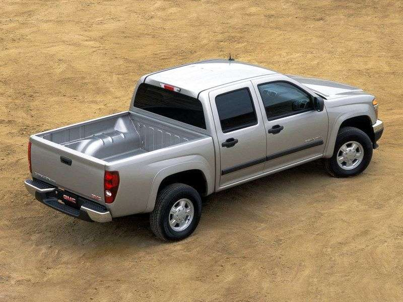 GMC Canyon 1st generation Crew Cab pick up 4 bit 2.8 CVT 4WD (2003 – present)