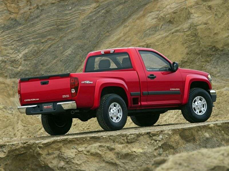 GMC Canyon 1st generation Regular Cab pickup 2 dv. 3.5 MT (2003–2006)