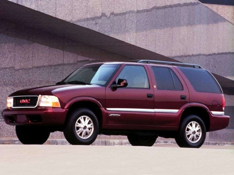 GMC Jimmy 2nd generation SUV 5 bit 4.3 AT (1994–2001)