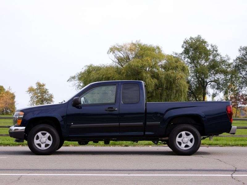GMC Canyon 1st generation Extended Cab pickup 2 bit. 3.5 MT 4WD (2003–2006)
