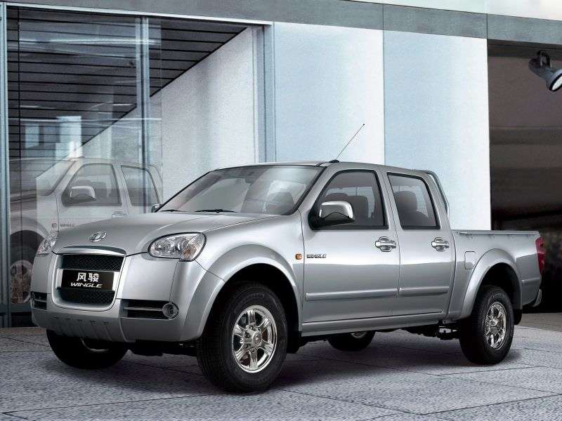 Great Wall Wingle Wingle 3pikap 4 dv. 2.2 MT Standart (2007–2012)