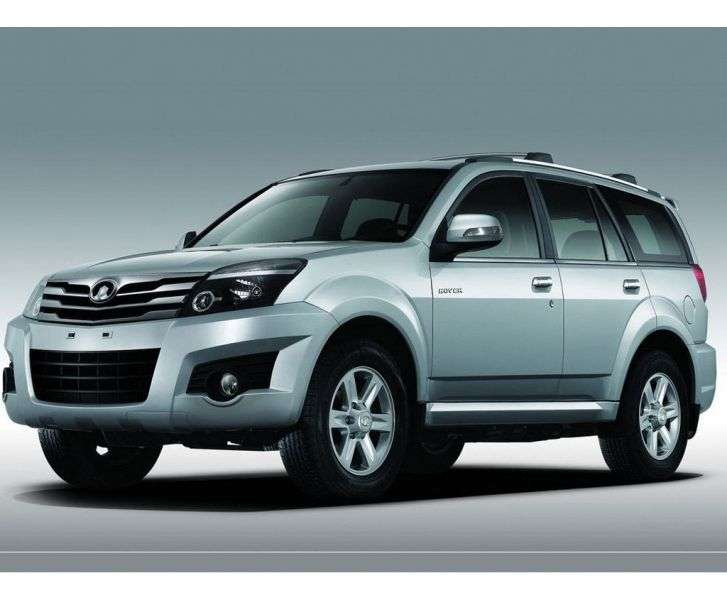 Great Wall Hover H3 5 door SUV. 2.0 MT 4WD Luxe (2012) (2009 – present)