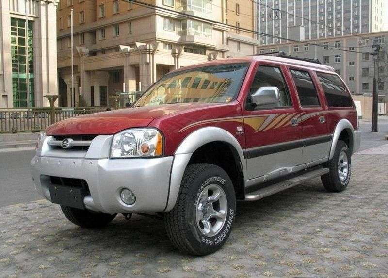 Great Wall Sing RUV 1st generation SUV 2.2 MT (2007 – current century)
