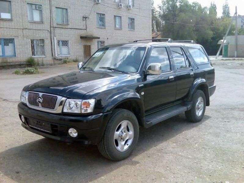 Great Wall Safe 1st generation SUV 2.2 MT (2004 – n. In.)