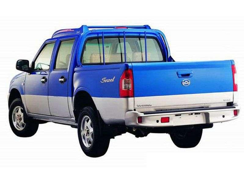 Great Wall Socool 1st generation pickup 2.2 MT (2006 – n. In.)