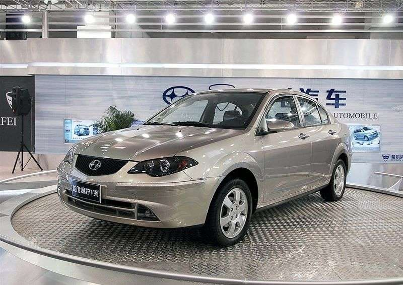Hafei Princip 5 [restyling] 1.6 MT sedan (2006 – present)