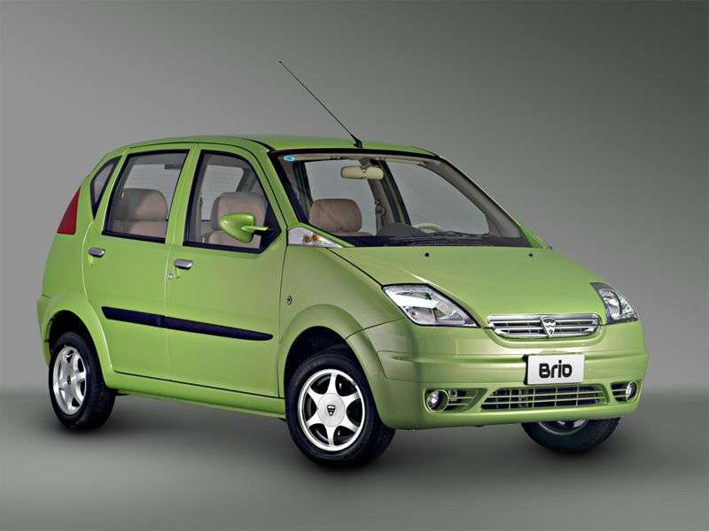 Hafei Brio 1st generation hatchback 1.1 MT (2004 – current century)