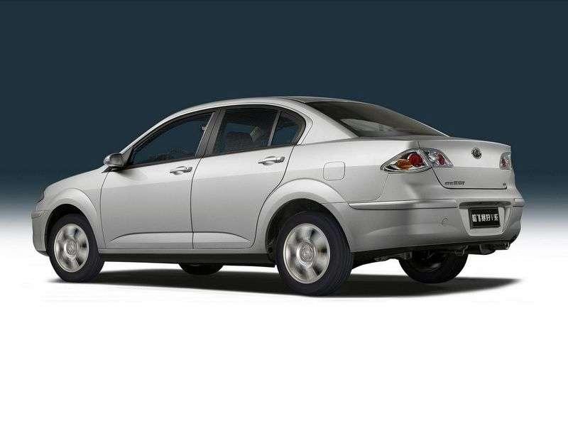 Hafei Saibao 1st generation 1.6 MT sedan (2006 – current century.)