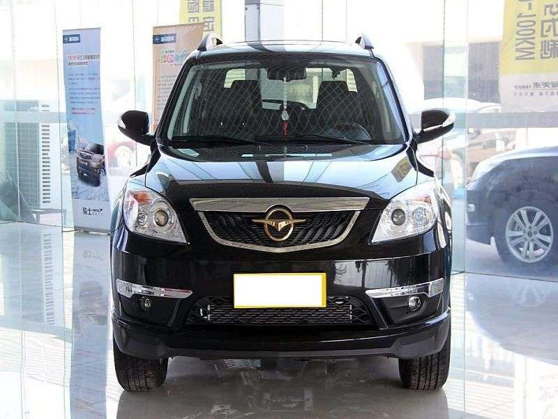 Haima 7 1st generation crossover 2.0 MT Deluxe (2012 – n.)