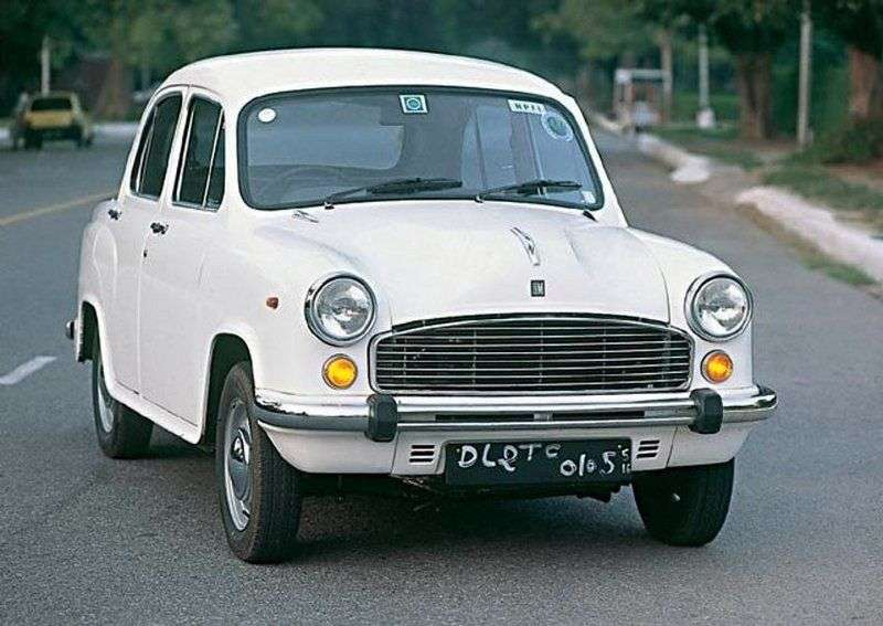 Hindustan Ambassador 2nd generation 1.8 MT sedan (1991–1999)