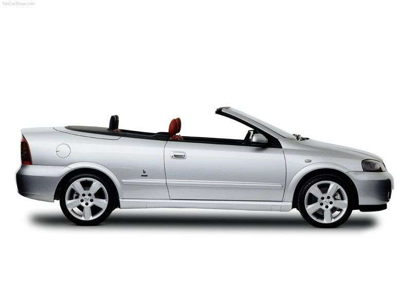 Holden Astra 4 generation convertible 2.2 MT (1999 – n.)