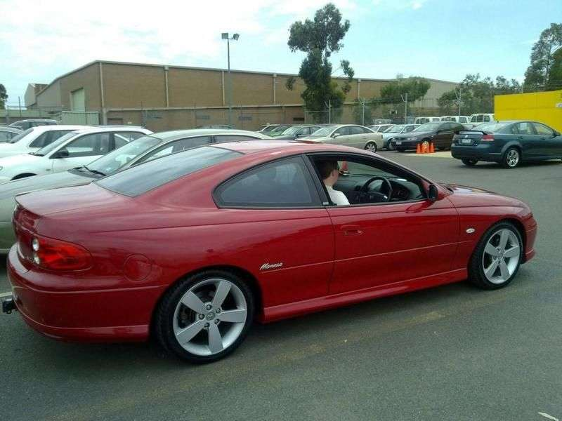 Holden Monaro 3rd generation coupe 3.8 AT (2001–2005)