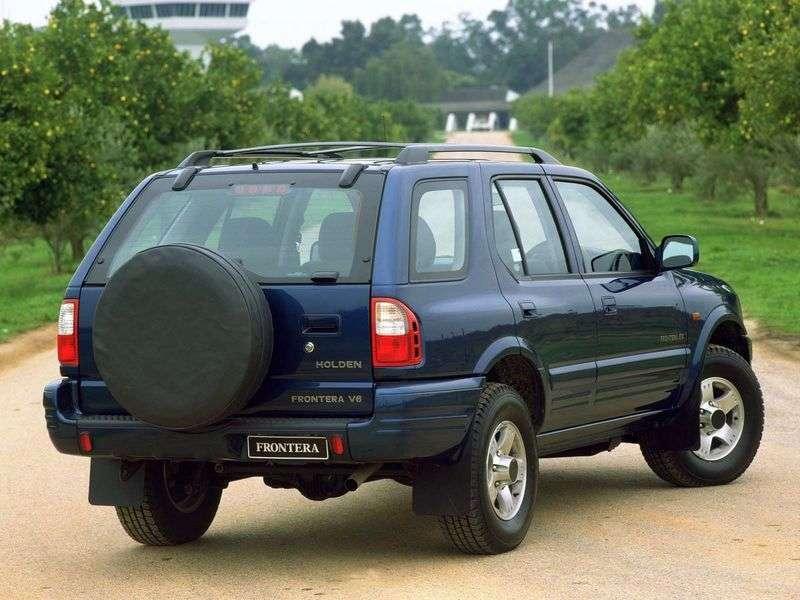 Holden Frontera 2nd generation SUV 3.2 MT 4WD (1998–2003)