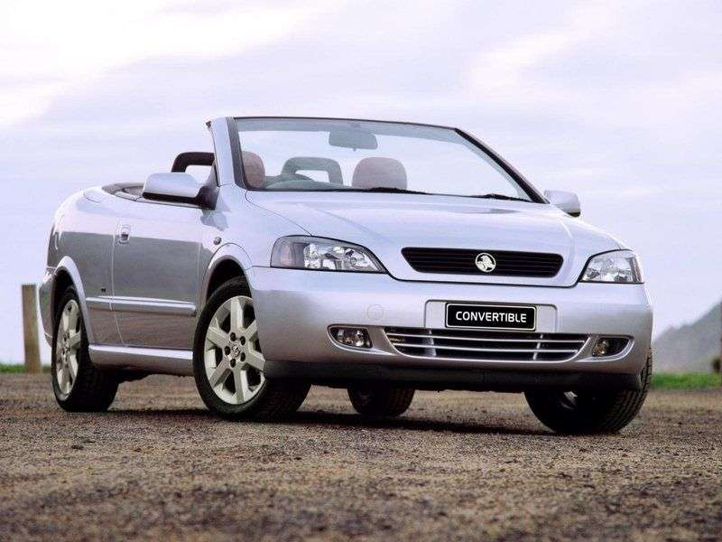 Holden Astra 4th generation convertible 2.0 MT (1999 – n.)