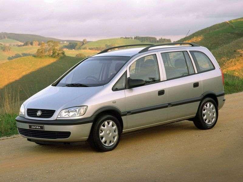 Holden Zafira Bminivan 2.2 MT (2002 obecnie)