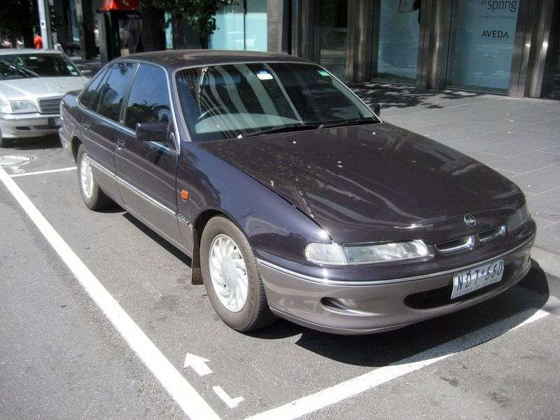 Holden Calais 2nd generation AT sedan 5.0 (1990–1996)