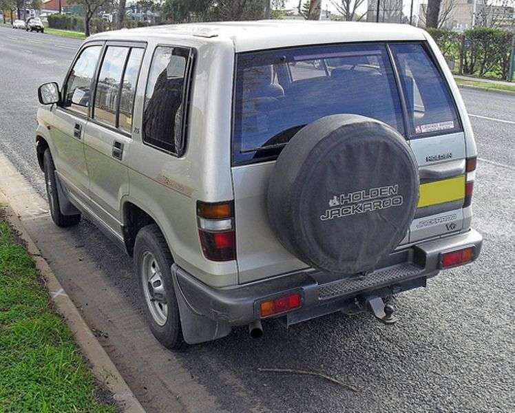 Holden Jackaroo 2nd generation SUV 3.2 MT (1998–2005)