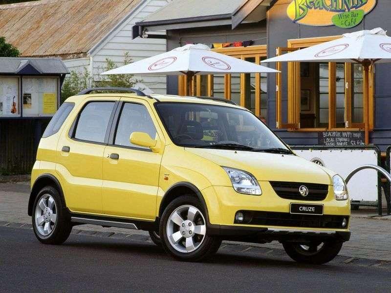 Holden Cruze 1st generation hatchback 1.5 MT AWD (2001 – n.)