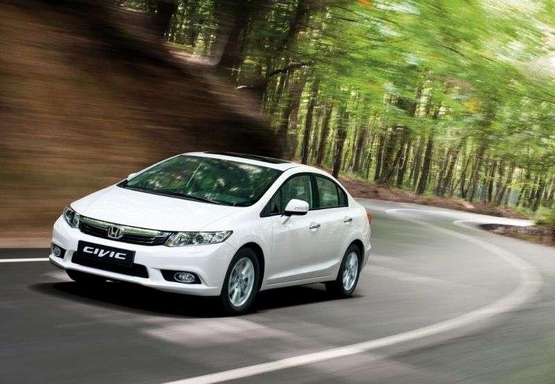 Honda Civic 9 generation sedan 1.8 MT Lifestyle (2012) (2012 – n. In.)