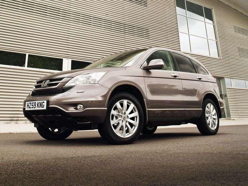 Honda CR V 3rd generation [restyled] crossover 2.0 MT Comfort (2009–2012)