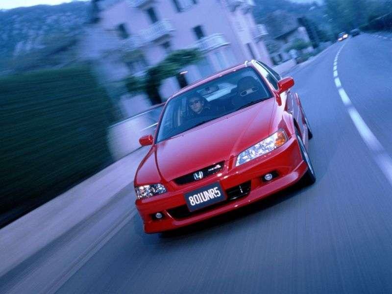 Honda Accord 6th generation [restyling] Euro R 4 d sedan 2.0 MT (2001–2002)