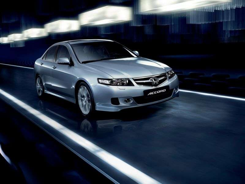 Honda Accord 7 generation [restyling] 4 door sedan. 2.2 СTDi MT (2006–2008)