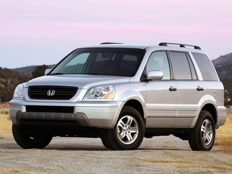 Honda Pilot 1st generation crossover 3.5 AT 4WD (2003–2006)