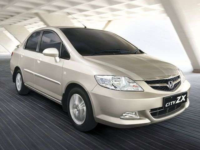 Honda City 4 generation sedan 1.4 MT (2006–2008)