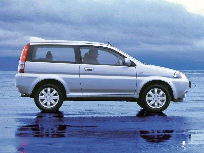 Honda Hr V 1st generation [restyling] 3 bit crossover. 1.6 MT (2001–2003)