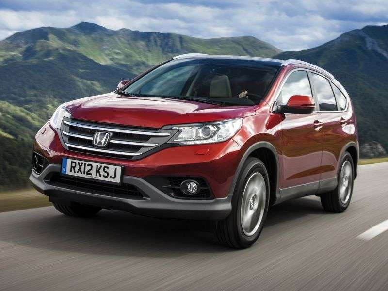 Honda CR V 4th generation crossover 2.0 AT 4WD Elegance (2012) (2012 – n.)