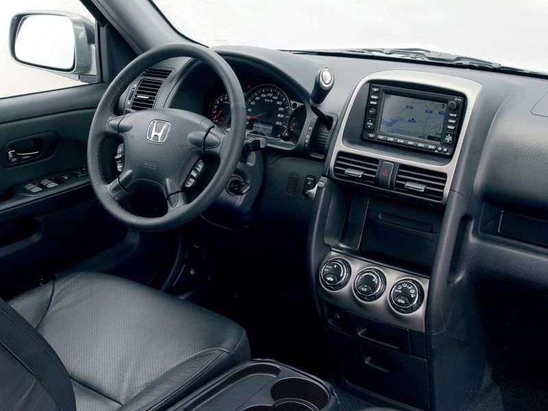 Honda CR V 2 generation crossover 2.0 MT (2002–2006)