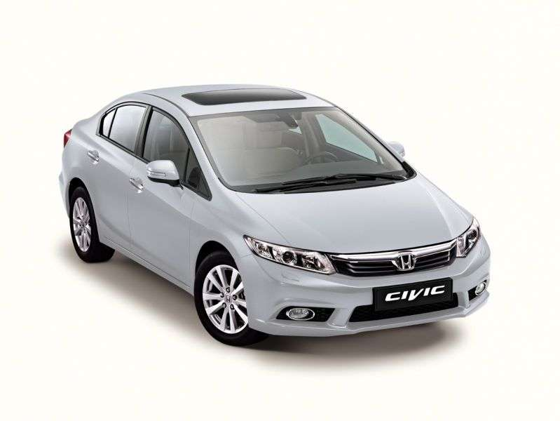 Honda Civic 9 generation sedan 1.8 MT Elegance (2012) (2012 – n. In.)