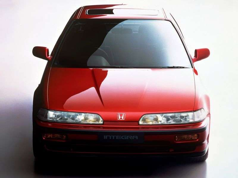 Honda Integra 2nd generation coupe 1.6 AT (1989–1993)
