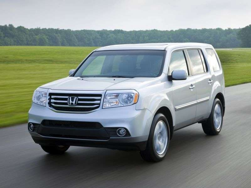 Honda Pilot 2nd generation [restyled] crossover 3.5 AT 4WD Executive + NAVI (2013) (2012 – n.)