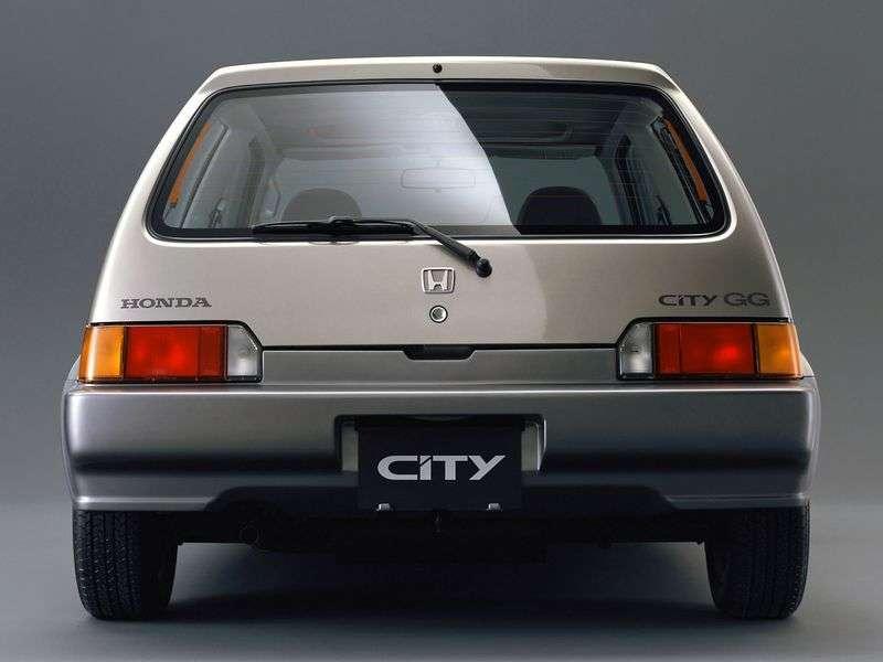 Honda City 2nd generation hatchback 1.2 MT (1986–1994)