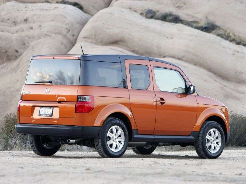 Honda Element 1st generation [restyled] 5 bit crossover 2.4 AT 4WD (2006–2008)
